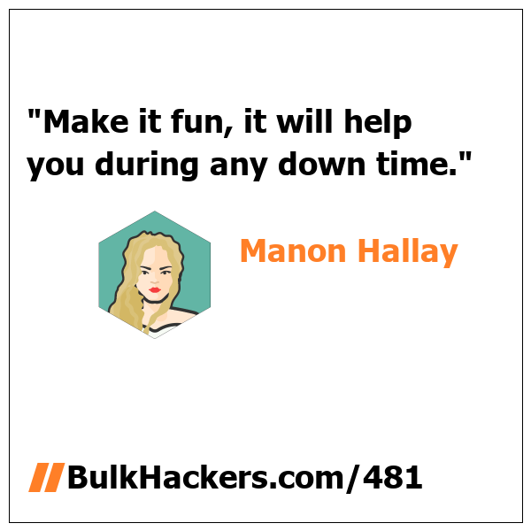 Manon Hallay quote