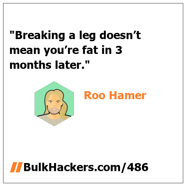 Roo Hamer quote
