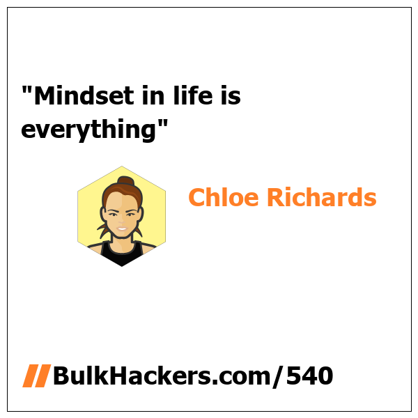 Chloe Richards quote