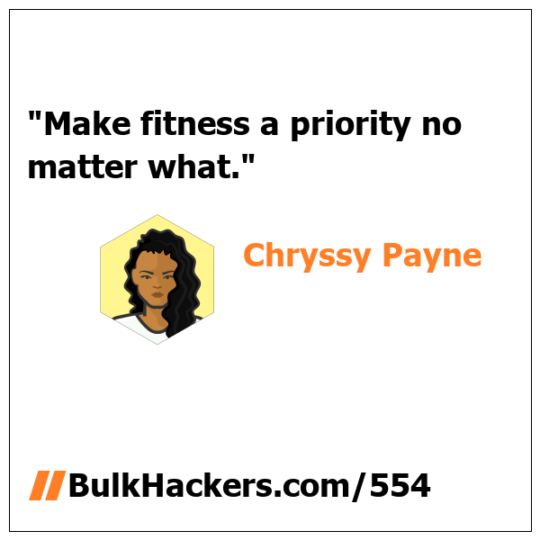 Chryssy Payne quote