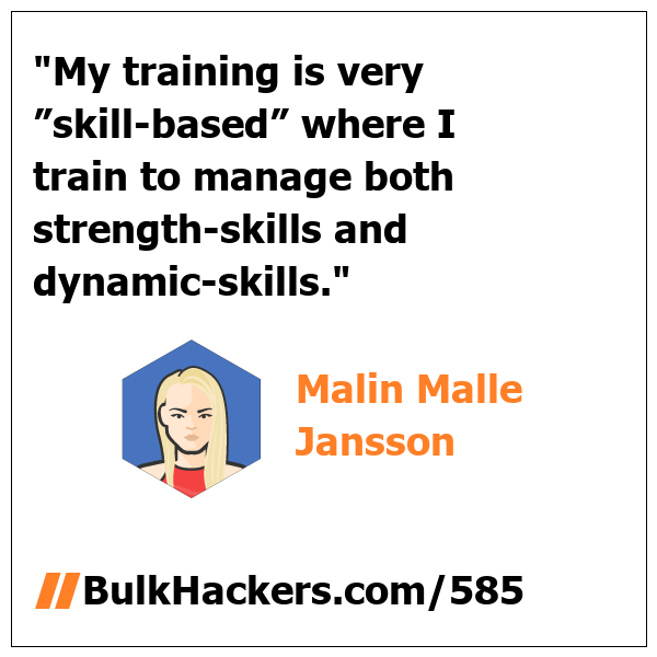 Malin Malle Jansson quote