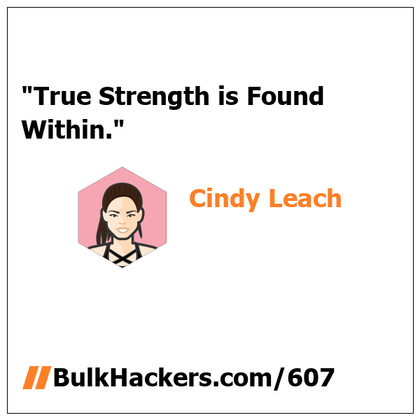 Cindy Leach quote