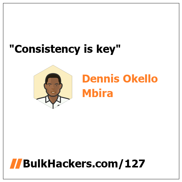Dennis Okello Mbira quote