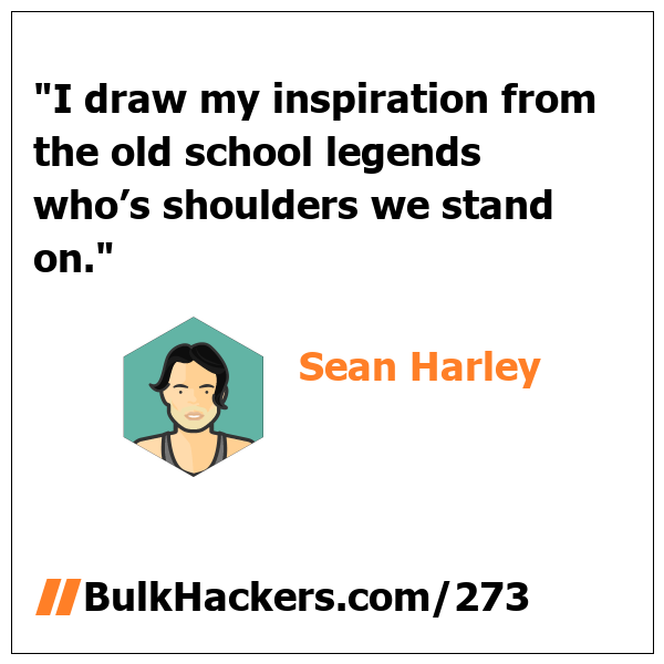 Sean Harley quote