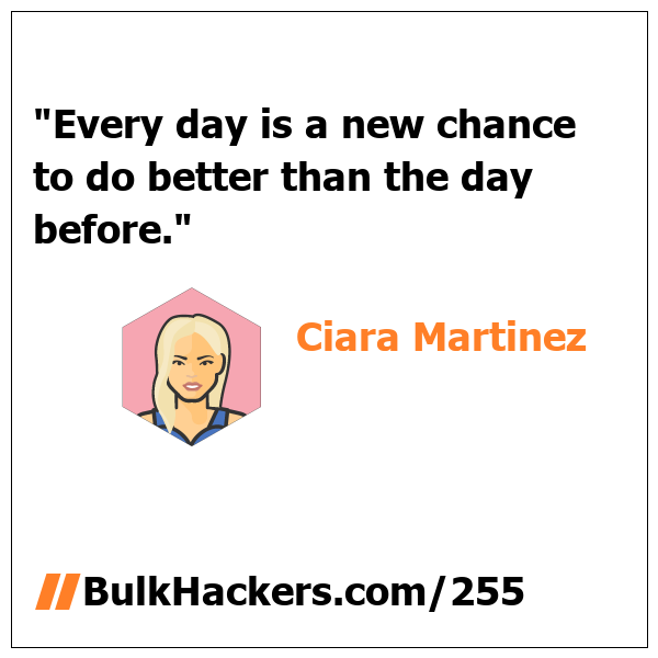 Ciara Martinez quote